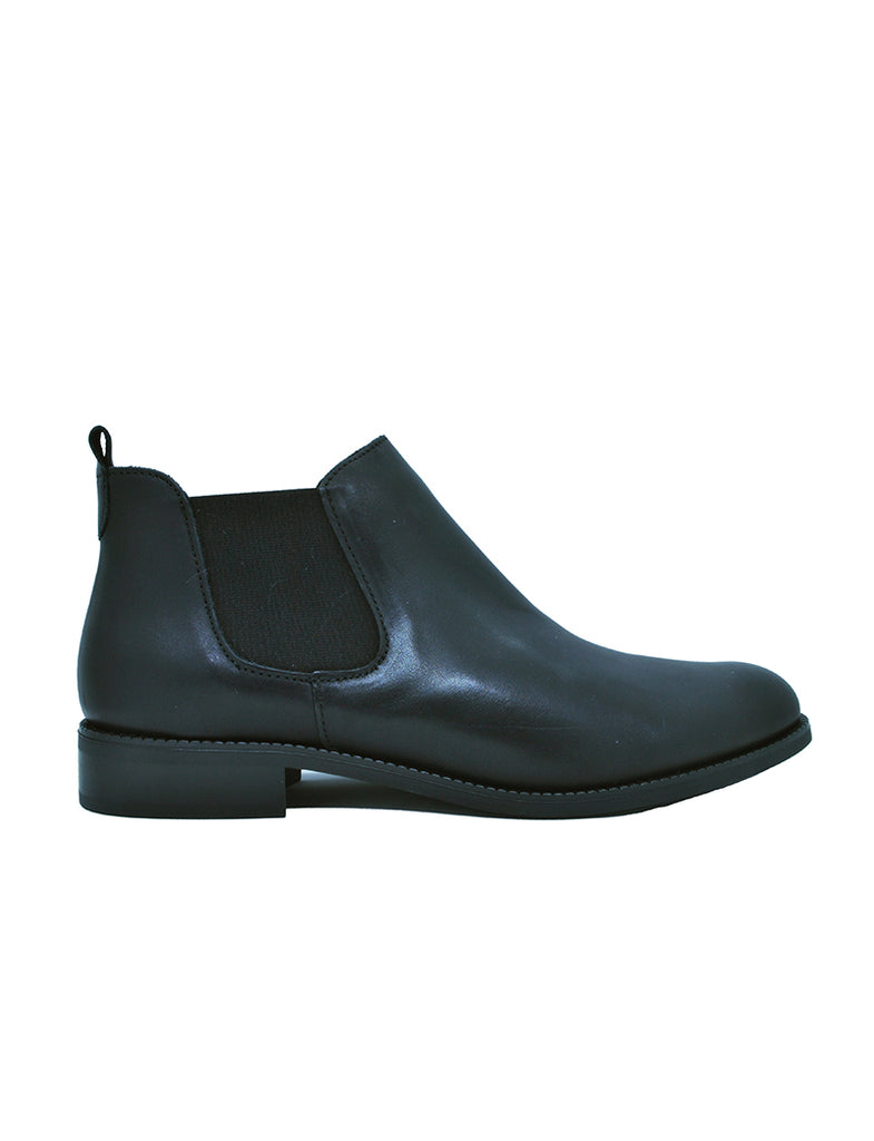 Leather ankle boots-Dark Night Chelsea by Ethical & Sustainable Fashion Brand Mamahuhu