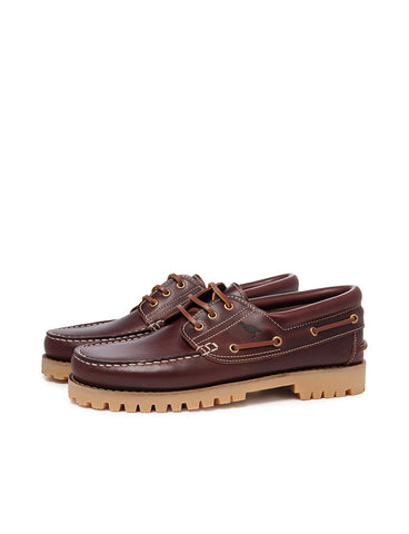 Deals-Leather Boat Shoes by Ethical & Sustainable Fashion Brand Mamahuhu