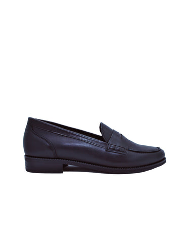 -Classic Leather Moccasin by Ethical & Sustainable Fashion Brand Mamahuhu
