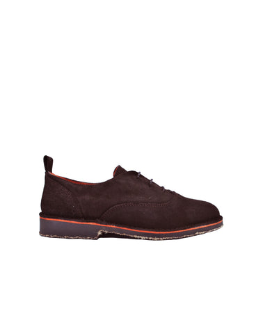 leather oxford-Oxford Chocolate 2018Ed by Ethical & Sustainable Fashion Brand Mamahuhu