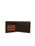 -Money Clip Wallet 2in1 Brown by Ethical & Sustainable Fashion Brand Mamahuhu