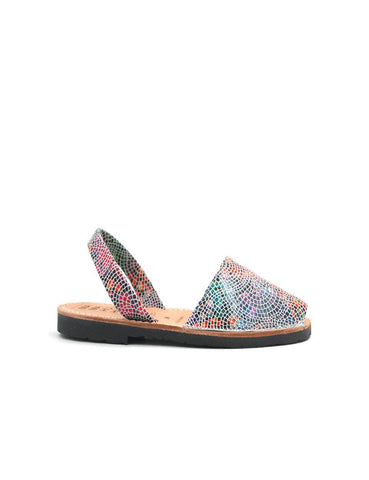 Leather Sandal-Menorquina Gaudí Baby by Ethical & Sustainable Fashion Brand Mamahuhu