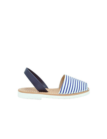 Leather Sandal-Menorquina Picasso Baby by Ethical & Sustainable Fashion Brand Mamahuhu