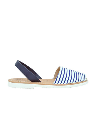 Leather Sandal-Menorquina Picasso Edition by Ethical & Sustainable Fashion Brand Mamahuhu
