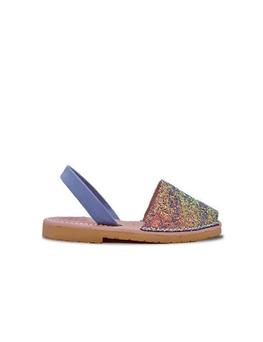 Leather Sandal-Menorquina Mermaid Baby by Ethical & Sustainable Fashion Brand Mamahuhu