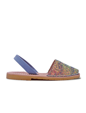 -Menorquina Little Mermaid Flat by Ethical & Sustainable Fashion Brand Mamahuhu