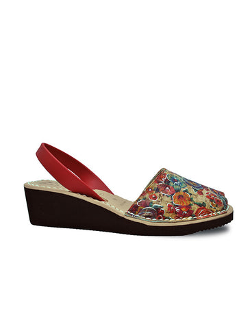 -Menorquina Italian Fresco Heel by Ethical & Sustainable Fashion Brand Mamahuhu