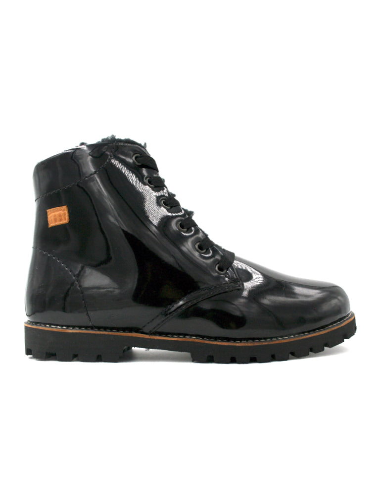 Rubber boot-Nevaditas Winter Night Rain by Ethical & Sustainable Fashion Brand Mamahuhu