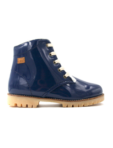 Rubber boot-Nevaditas Winter Sapphire Rain by Ethical & Sustainable Fashion Brand Mamahuhu