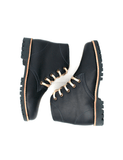 Leather boots-Nevaditas Deep Ocean Winter by Ethical & Sustainable Fashion Brand Mamahuhu