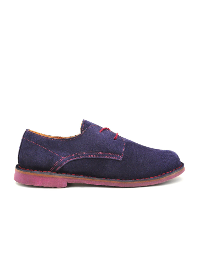 leather moccasin-Oxford Blueberry by Ethical & Sustainable Fashion Brand Mamahuhu