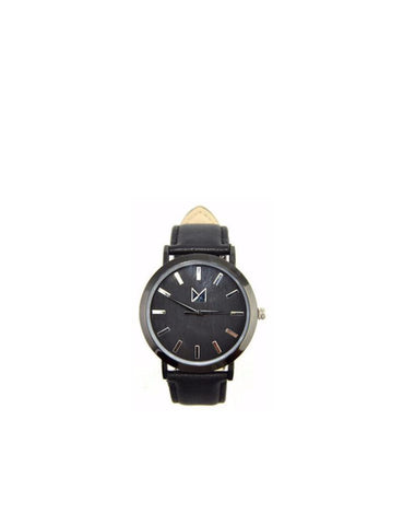 Bamboo watches-Bamboo Watch Black Women/Men by Ethical & Sustainable Fashion Brand Mamahuhu