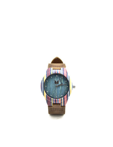 Bamboo Watch Emerald Women