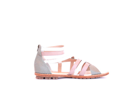 Leather Sandal-Sandal Roman Cake by Ethical & Sustainable Fashion Brand Mamahuhu
