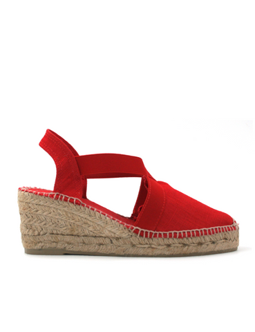 Espadrilles Women-Espadrilles Wedge Fire by Ethical & Sustainable Fashion Brand Mamahuhu
