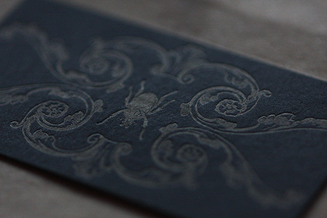 Custom Design & Letterpress Business Cards