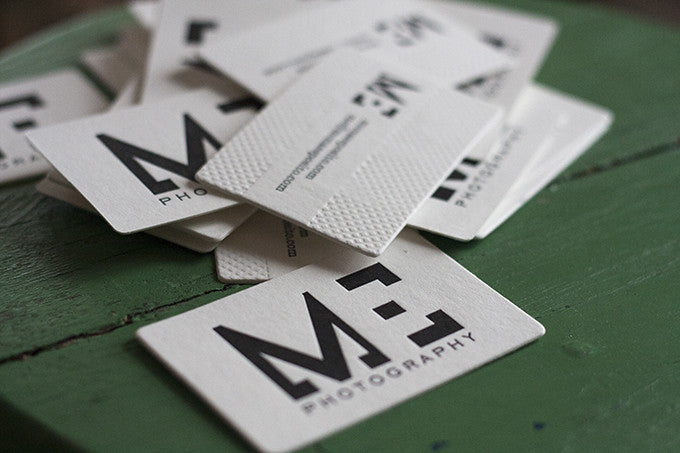 Letterpress Business Cards & Custom Design