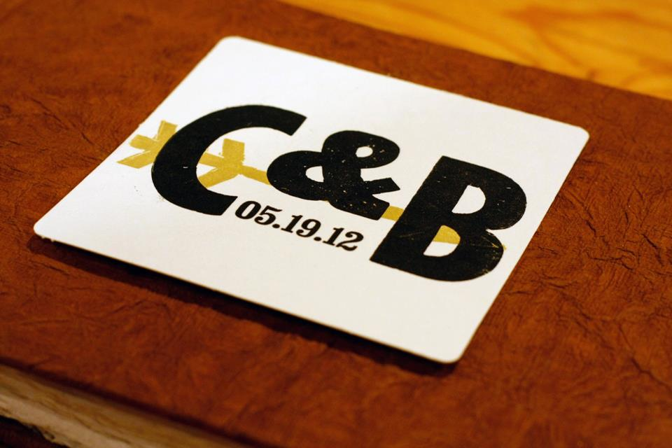 Letterpress Coasters Boulder Denver Colorado Custom Letterpress Printing Front Range Colorado