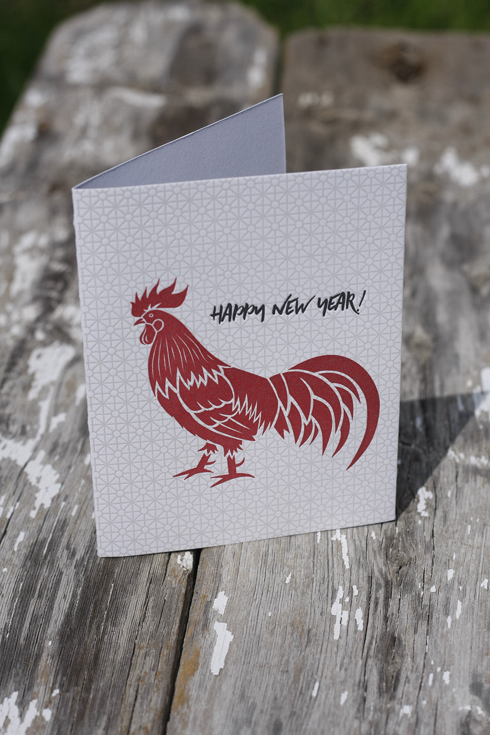 Letterpress Greeting Card New Years Card Boulder Denver Lafayette
