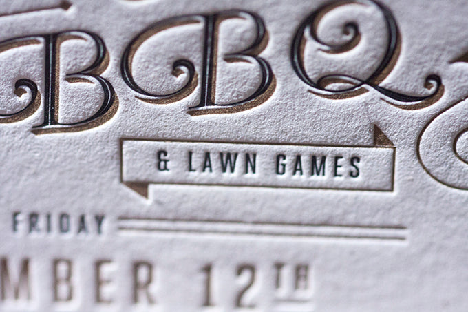 Letterpress Wedding Invitation Printing Boulder Lafayette Colorado French Paper Letterpress