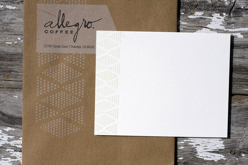 Letterpress Stationery and Correspondence Cards Boulder Denver Colorado Dogs and Stars