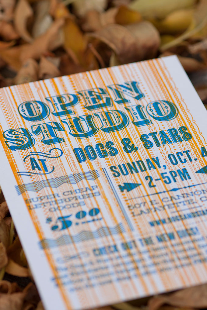 Letterpress Open Studio Tour Boulder Colorado Custom Design and Printing