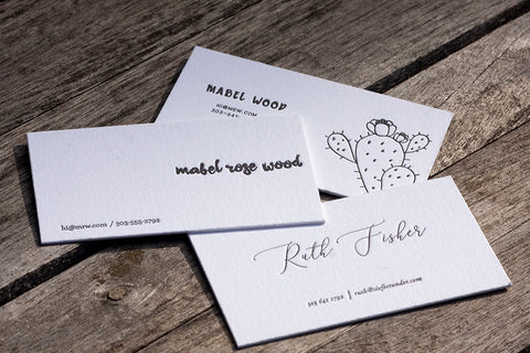 Pre-Designed Business Card Sample Pack