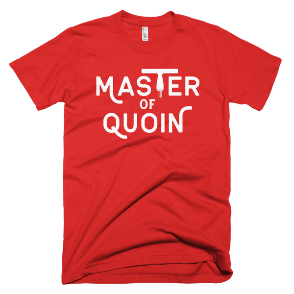 Men's Master of Quoin Letterpress T-shirt