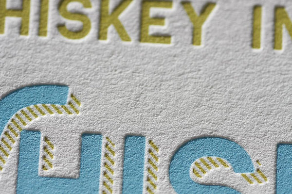 Whiskey Mini Print - Felice Brothers