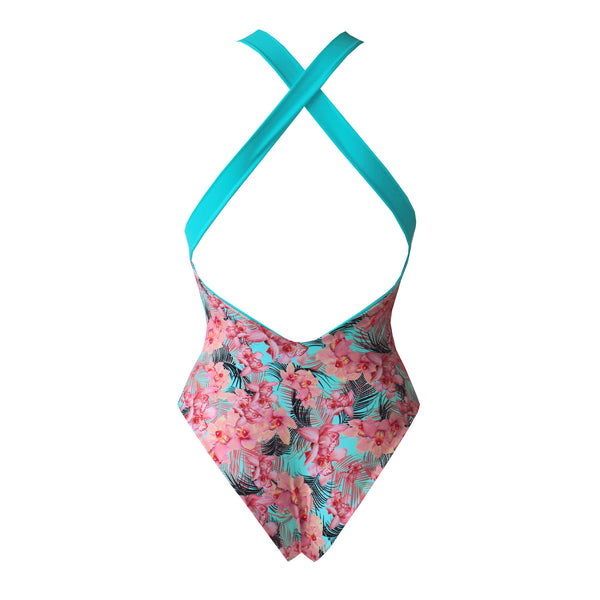 SWEET ORCHID Reversible Swimsuit
