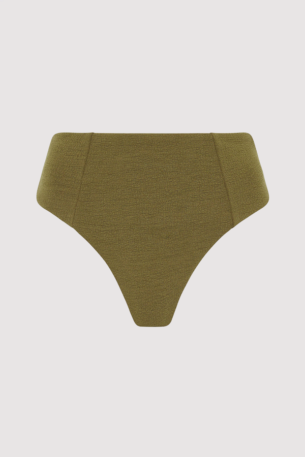 Lou Bottom Boucle - Olive - By Ziah