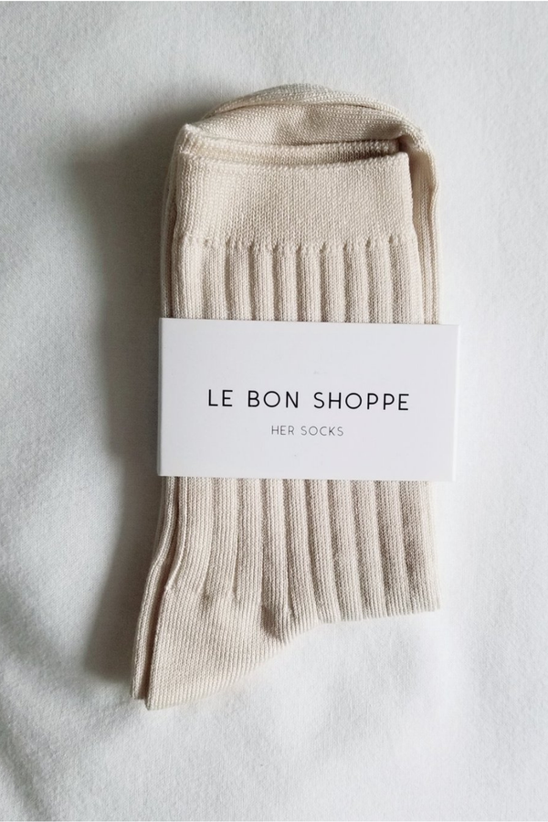 Her Socks - Porcelain - By Le Bon