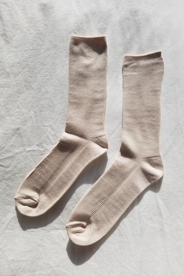 Trouser Socks - Eggnog - By Le Bon
