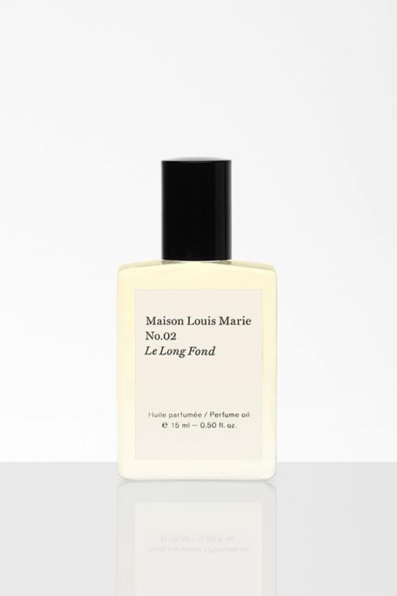 N0.02 Le Long Fond Perfume Oil - By Maison Louis Marie