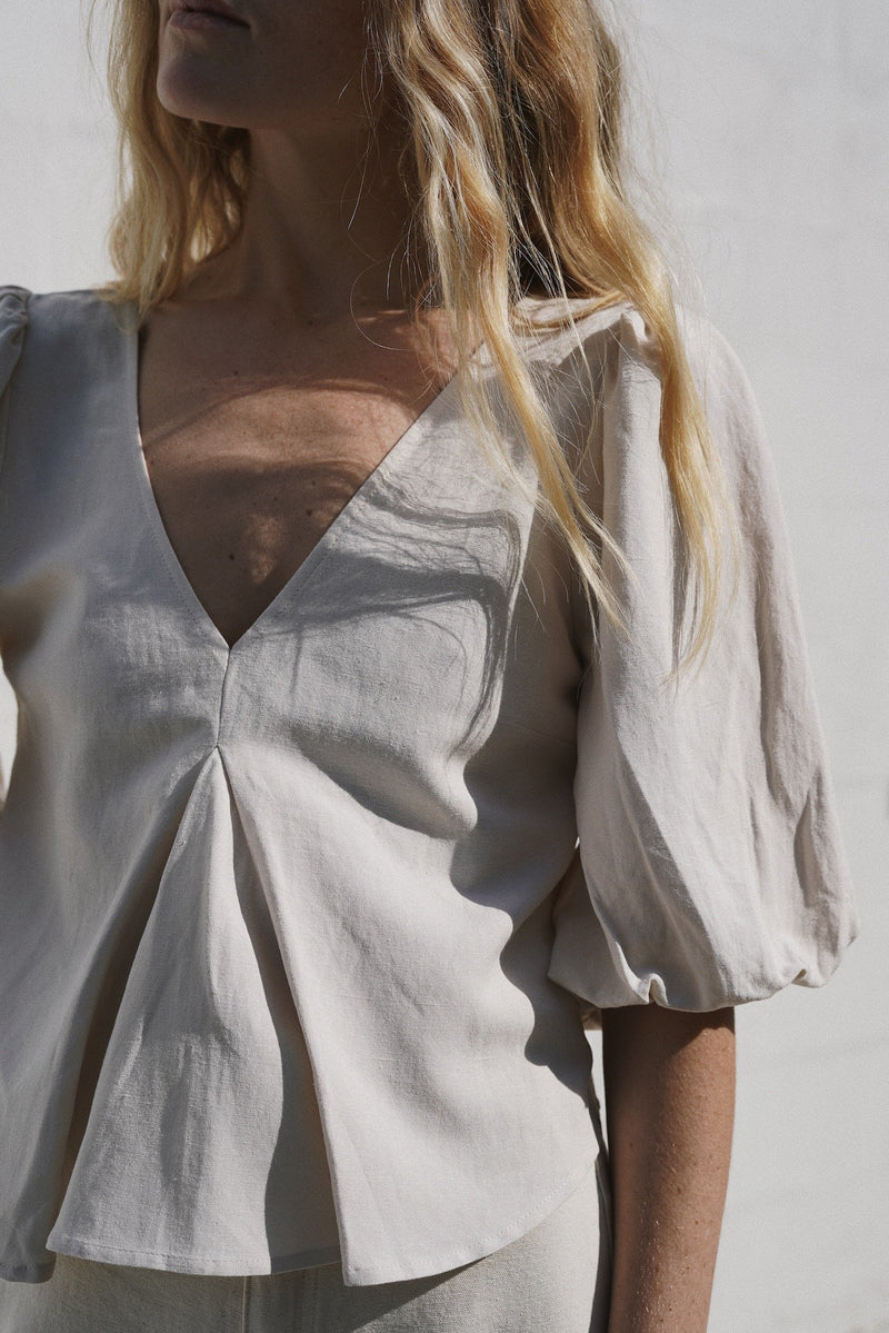 Sunday Blouse - Ivory