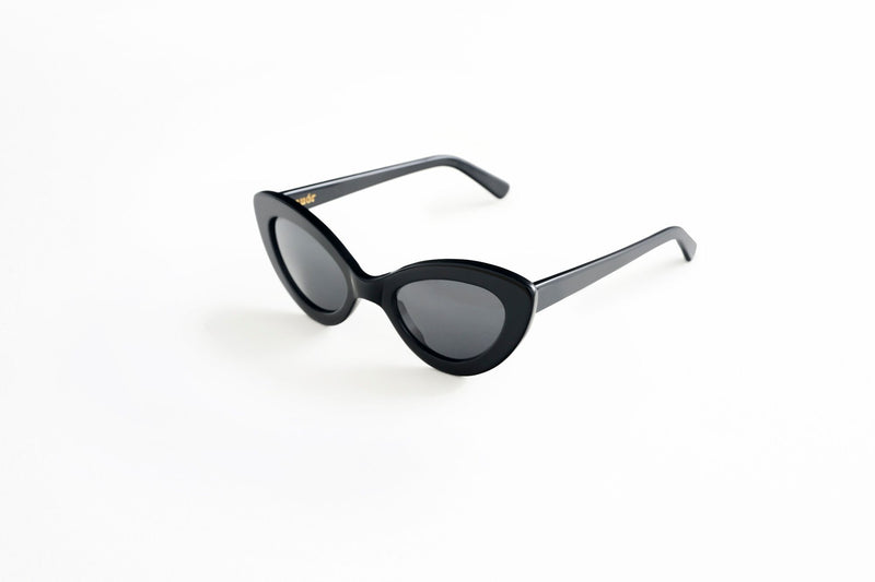 Valentina Sunglasses Black - By Auor