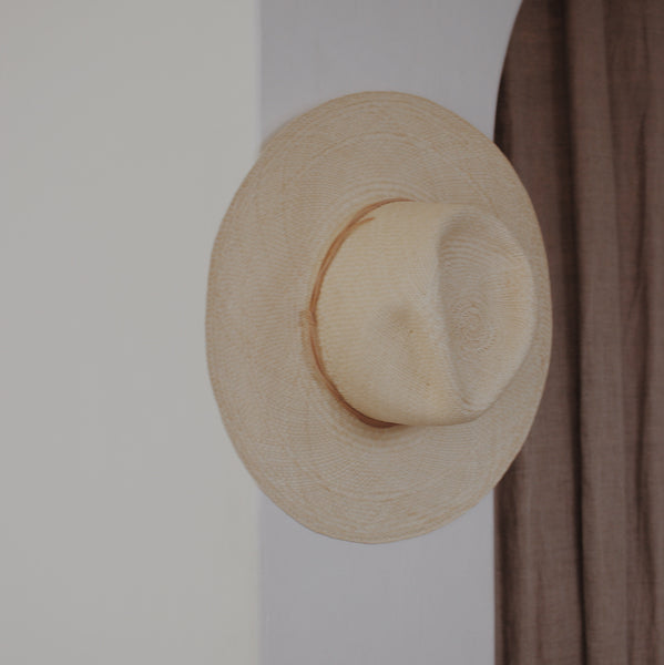 Wakefield Hat Natural - By Brookes Boswell