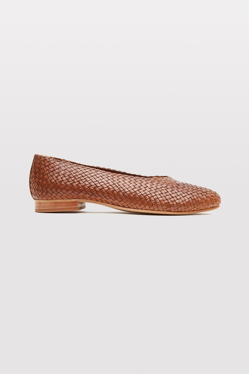 Ane Flat - Antique Tan
