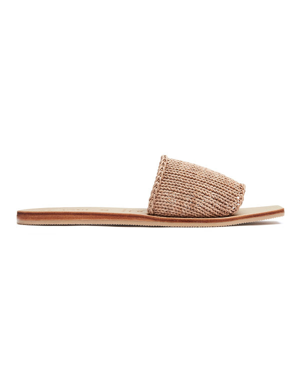 Benita Knitted Slide