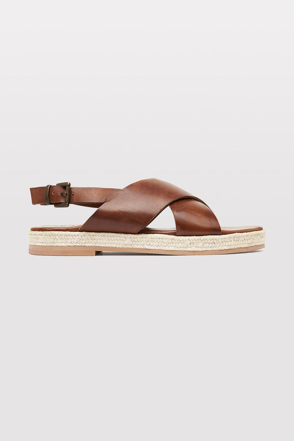 Basque Espadrille - Antique Tan