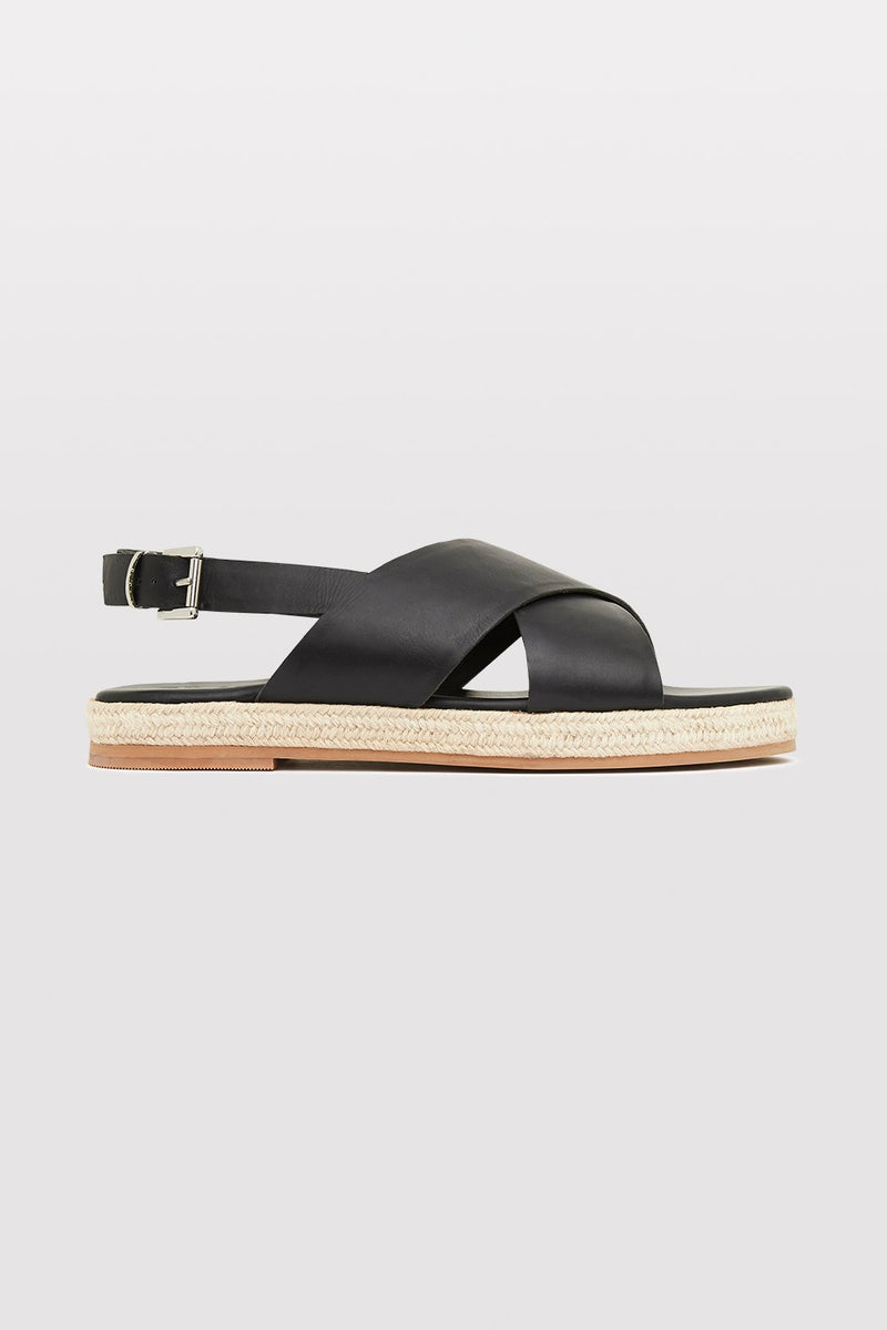 Basque Espadrille - Black