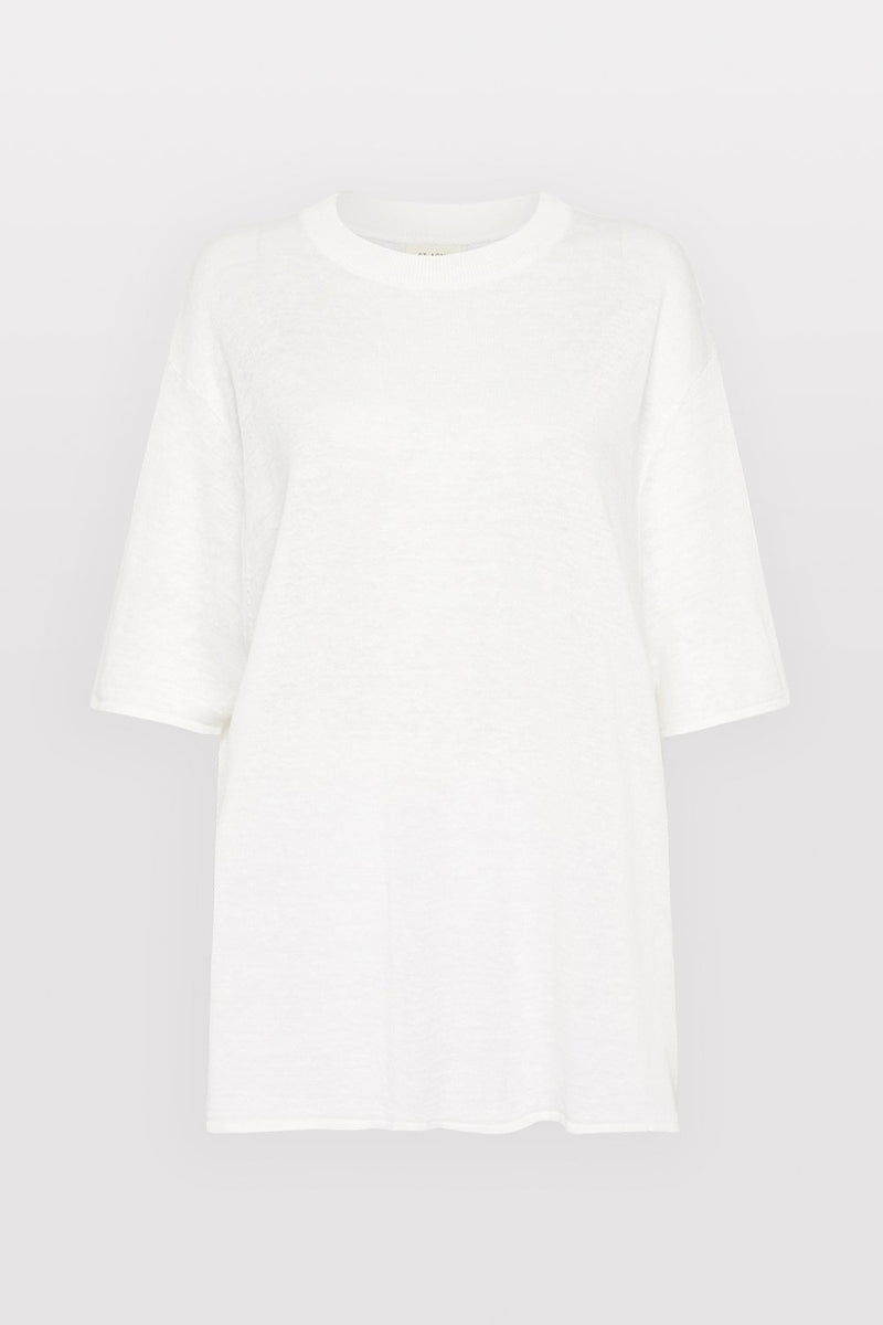 Copain Knit Tee - Off White