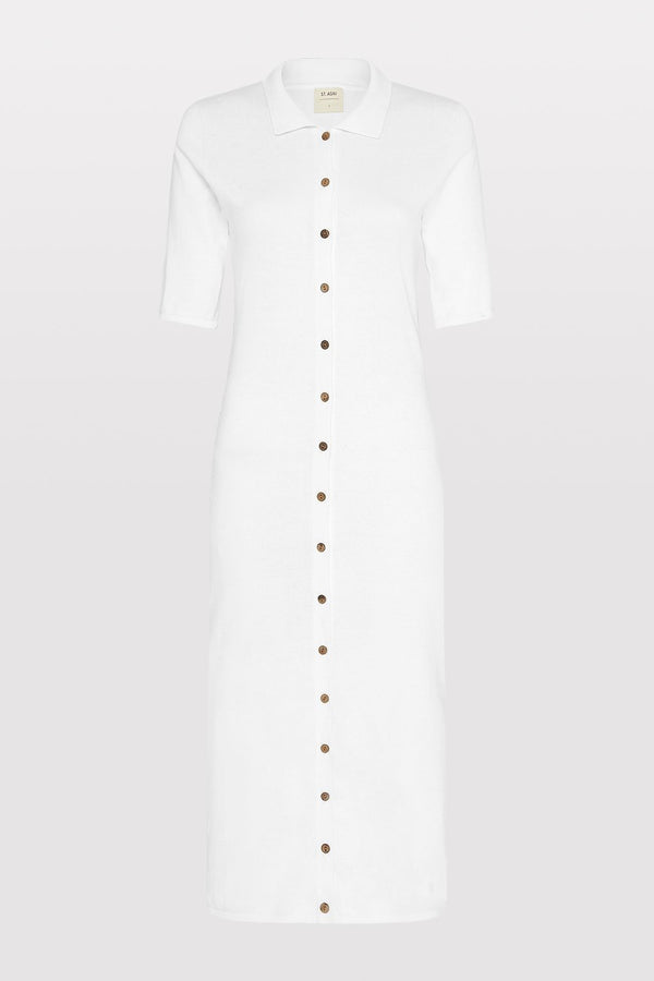 Chieko Knit Dress - Off White