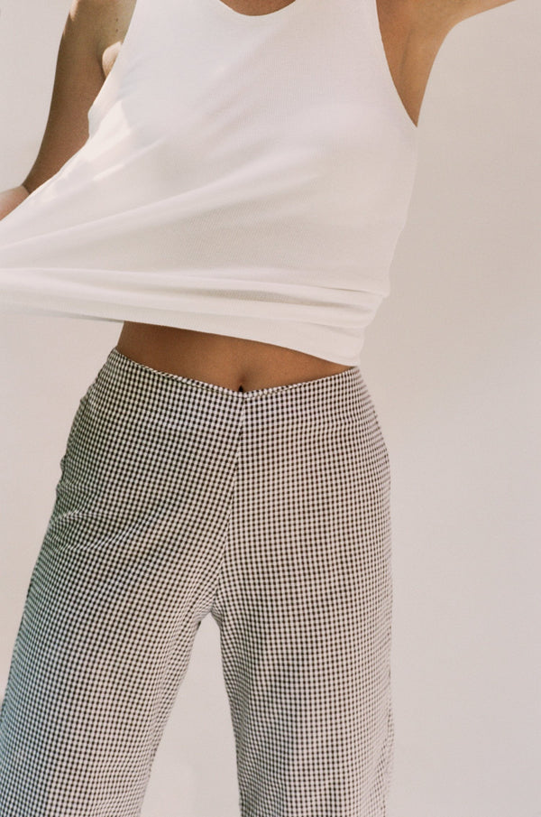 Franco Pants - Brown Gingham