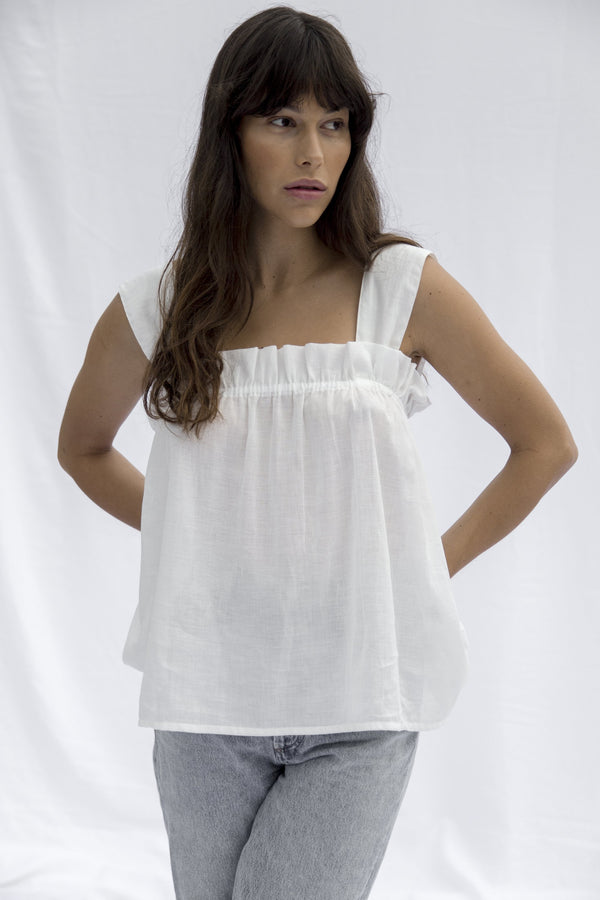 Sofia Top - Off White