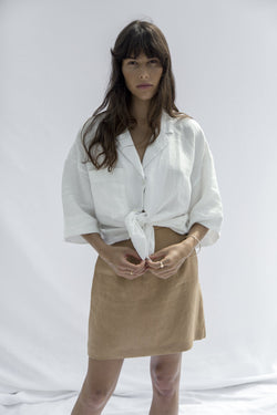 Lucia Skirt - Tobacco