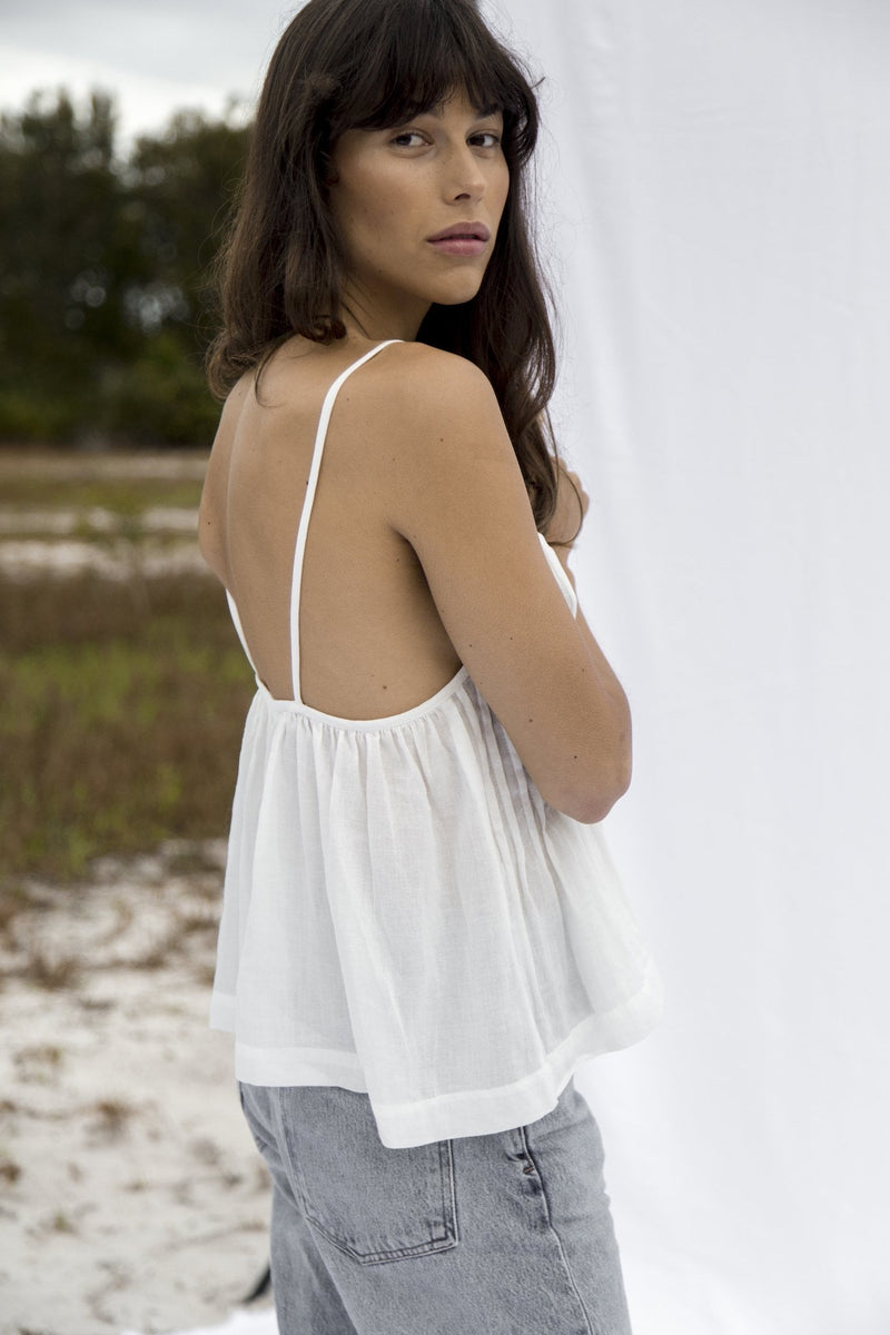 Alma Swing Top - Off White