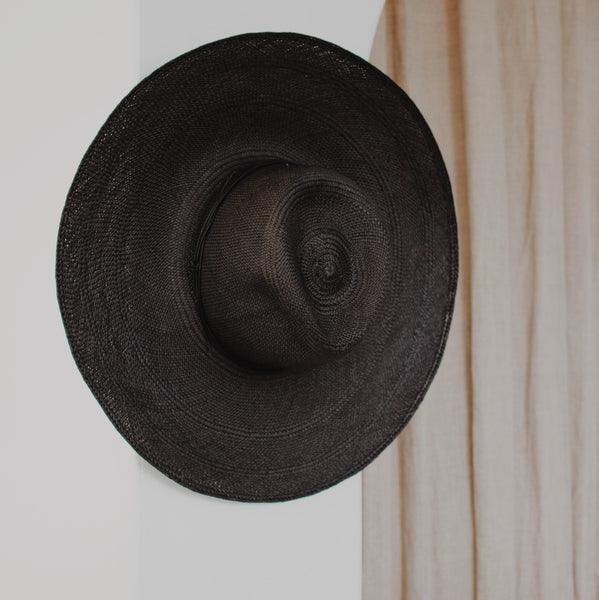 Wakefield Hat Black - By Brookes Boswell