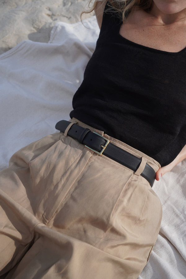 Leather Belt - By Anderson's