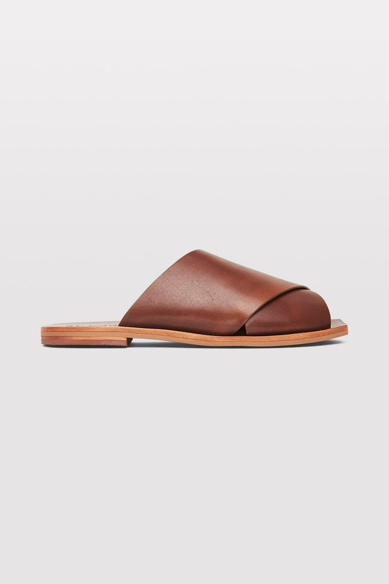 Gulliver Slide - Antique Tan/Antique Tan